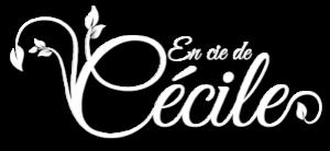 logo blanc en compagnie de Cécile